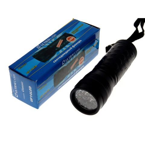 Фонарь Ultraflash UF 14 LED (3*R03, металл) (6/288), купить оптом в Перми, цены - интернет-магазин «Баткомплект»